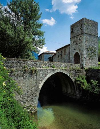 Il ponte di S.Vittore di Genga