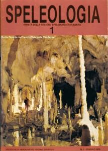 La copertina della più importante rivista italiana di speleologia