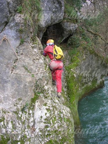 Un'altra entrata alla Grotta del Fiume di Frasassi
