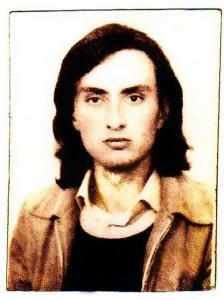 Rolando Silvestri all'epoca della sua scoperta della Grotta Grande del Vento di Frasassi