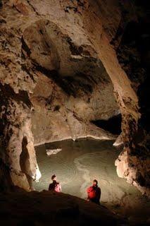 Il laghetto della Grotta delle Tassare