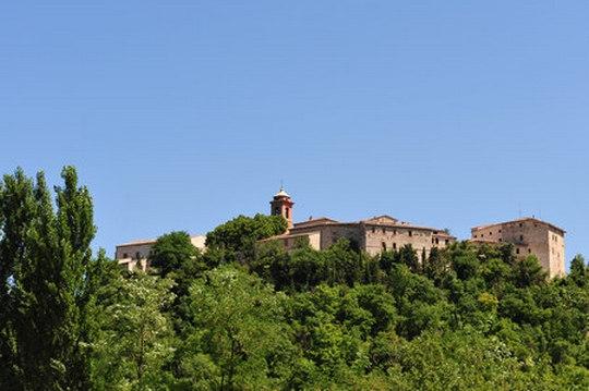La cittadina di Genga (Provincia di Ancona)