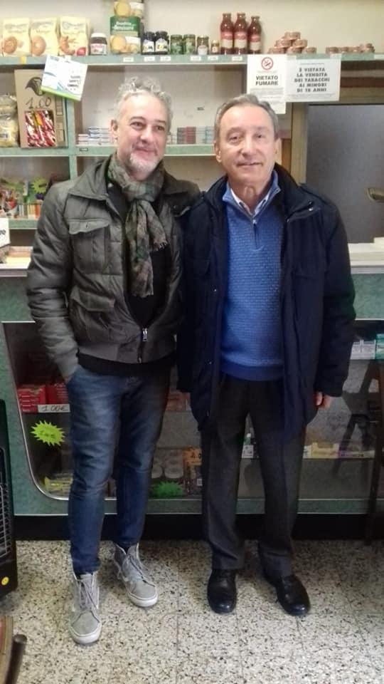 Da sinistra: Antonio Piazza e Giancarlo Cappanera (Frasassi 2018).
