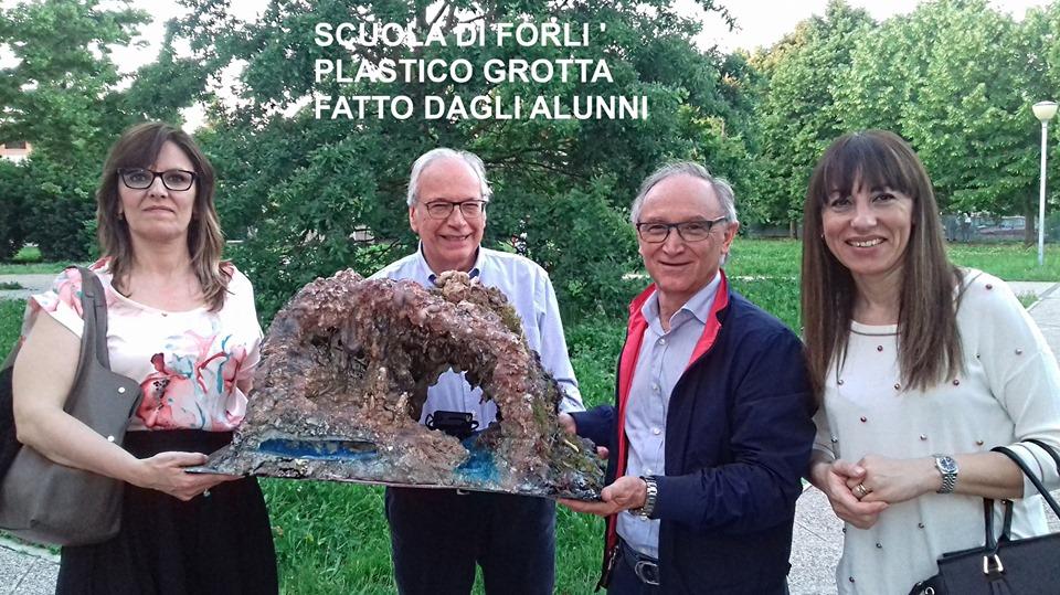 Didattica carsica a Forlì: Giuseppe Gambelli e Fabio Sturba (2019).